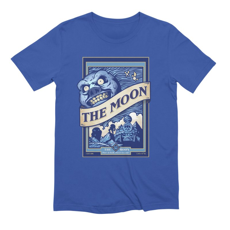 Majora's Blue Moon Men's Extra Soft T-Shirt by TeeMaki
