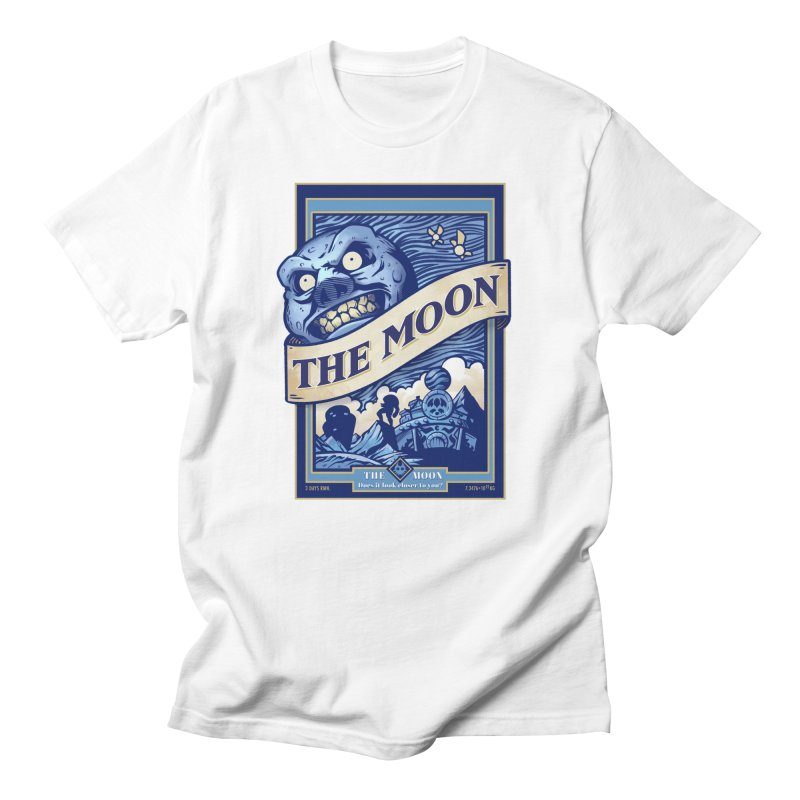 Majora's Blue Moon Men's Regular T-Shirt by TeeMaki