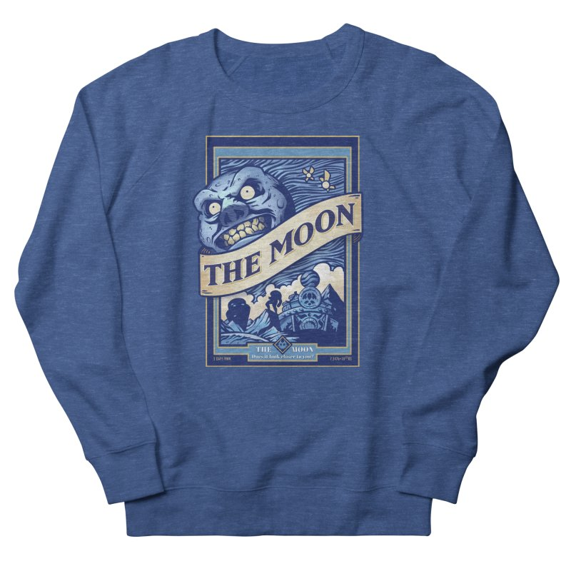 Majora's Blue Moon Women's French Terry Sweatshirt by TeeMaki