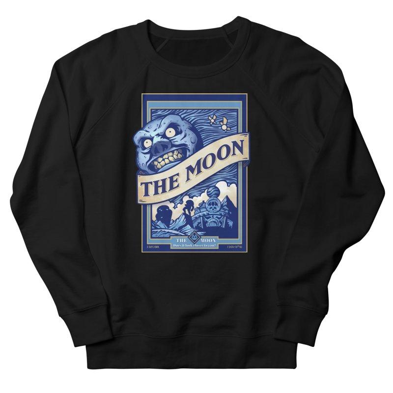 Majora's Blue Moon Men's French Terry Sweatshirt by TeeMaki
