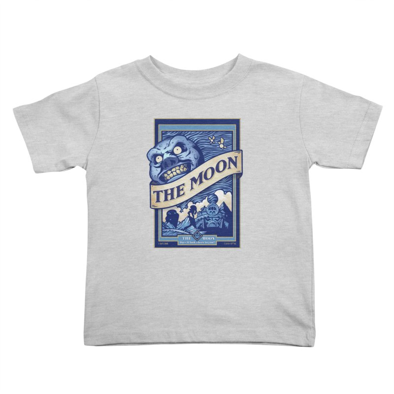 Majora's Blue Moon Kids Toddler T-Shirt by TeeMaki
