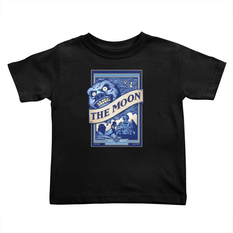 Majora's Blue Moon Kids Toddler T-Shirt by TeeMaki