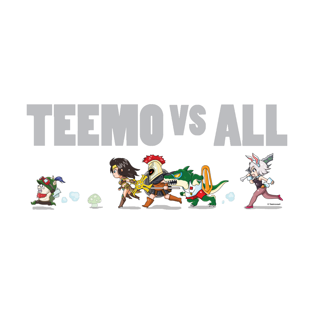 All teemo vs Best Teemo