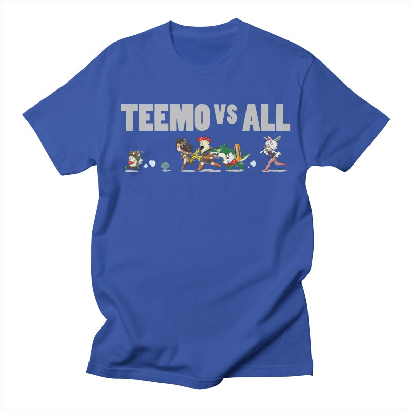Teemo vs All Banner Men's T-shirt by Teemovsall Official shop