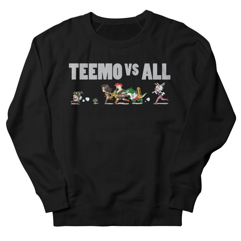 Teemo vs All Banner Women's Sweatshirt by Teemovsall Official shop