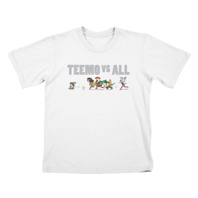Teemo vs All Banner Kids T-shirt by Teemovsall Official shop