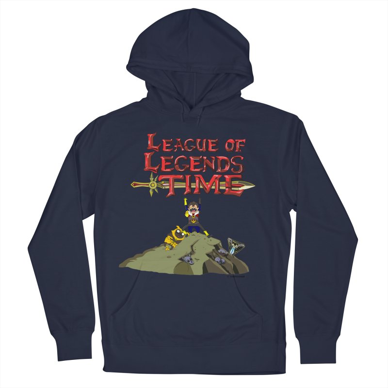 League of Legends Time Men's French Terry Pullover Hoody by Teemovsall Official shop
