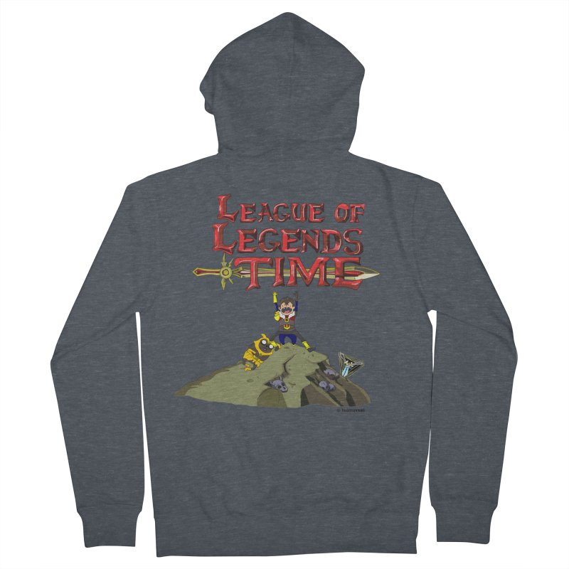 League of Legends Time Men's Zip-Up Hoody by Teemovsall Official shop