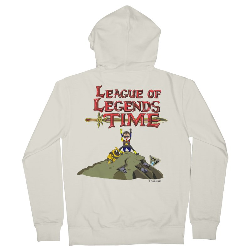 League of Legends Time Men's French Terry Zip-Up Hoody by Teemovsall Official shop