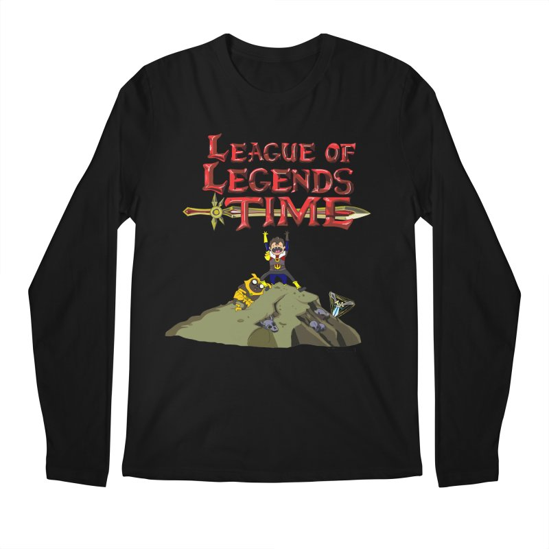 League of Legends Time Men's Longsleeve T-Shirt by Teemovsall Official shop