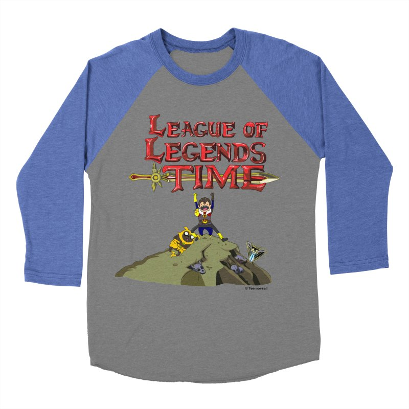 League of Legends Time Men's Baseball Triblend T-Shirt by Teemovsall Official shop