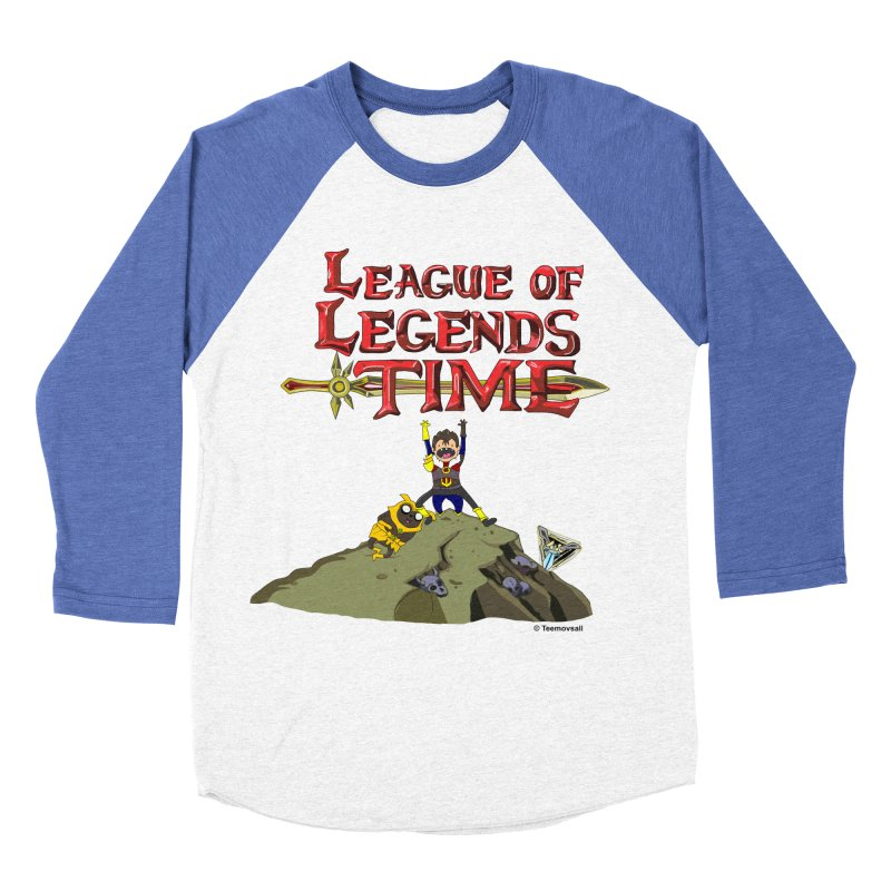 League of Legends Time Men's Baseball Triblend Longsleeve T-Shirt by Teemovsall Official shop