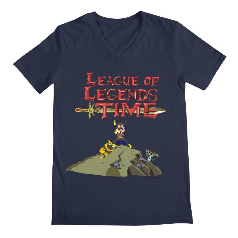 League of Legends Time Men's Regular V-Neck by Teemovsall Official shop