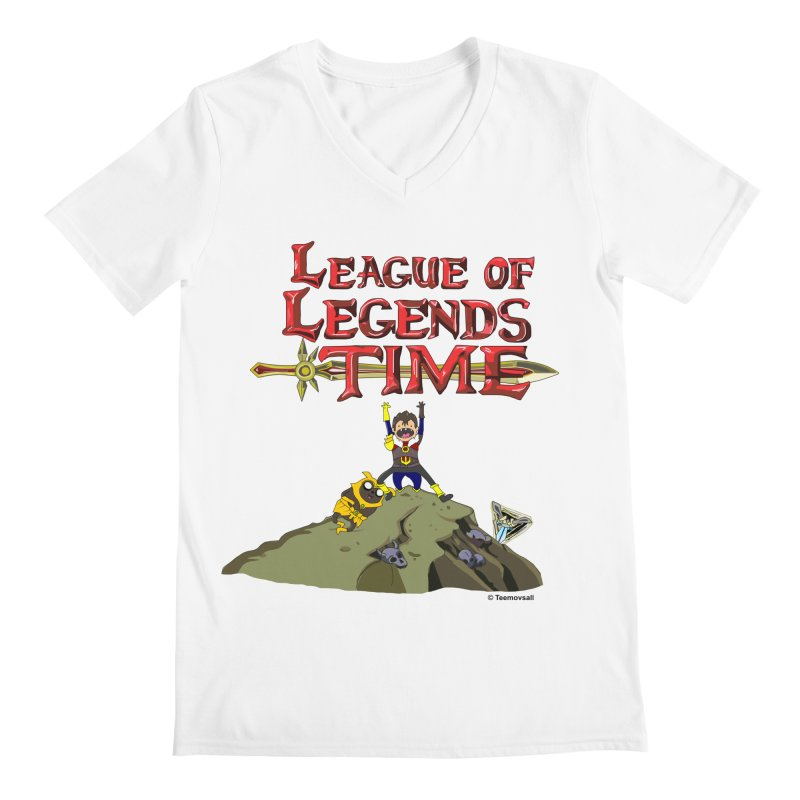 League of Legends Time Men's V-Neck by Teemovsall Official shop