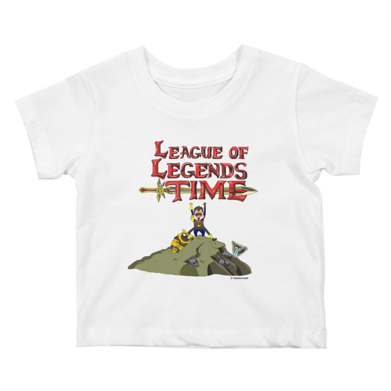 League of Legends Time Kids Baby T-Shirt by Teemovsall Official shop