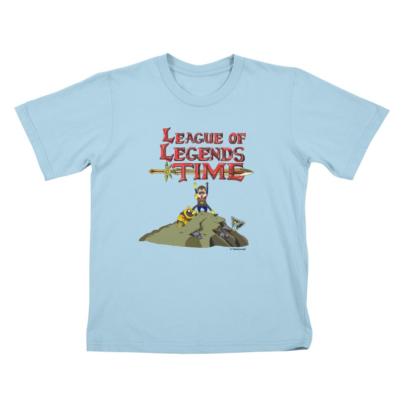 League of Legends Time Kids T-Shirt by Teemovsall Official shop