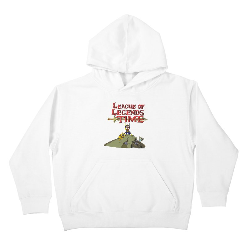 League of Legends Time Kids Pullover Hoody by Teemovsall Official shop
