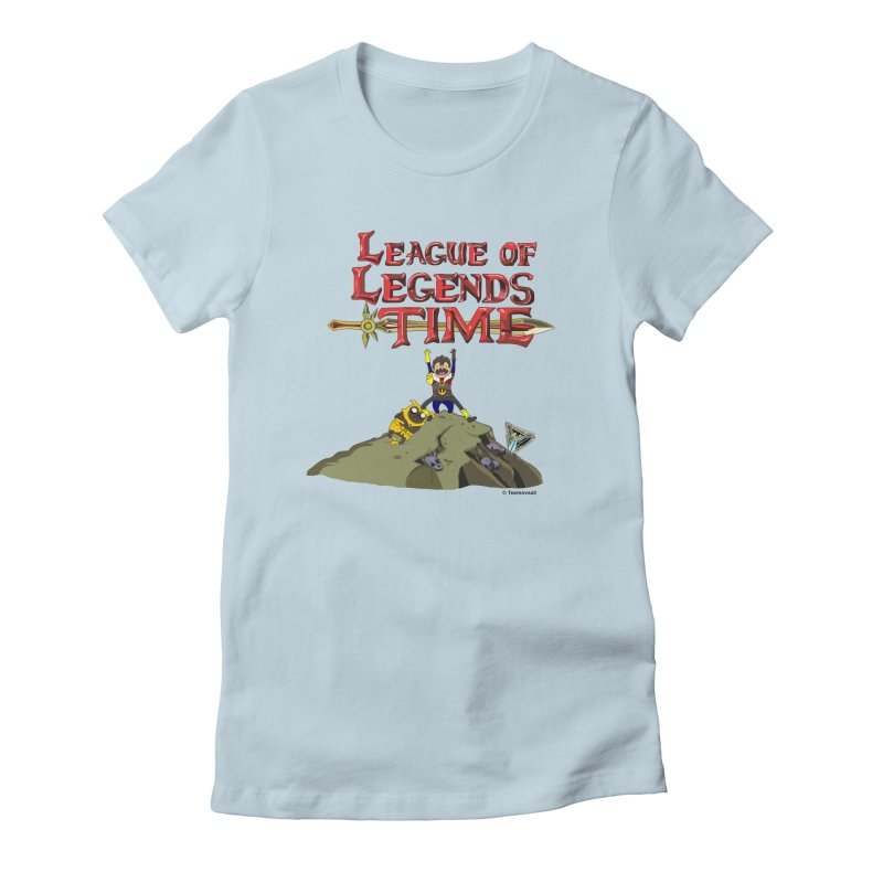 League of Legends Time Women's Fitted T-Shirt by Teemovsall Official shop