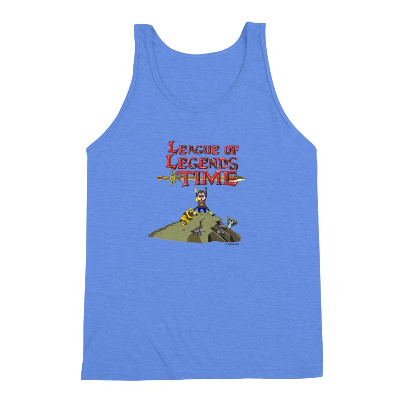 League of Legends Time Men's Triblend Tank by Teemovsall Official shop