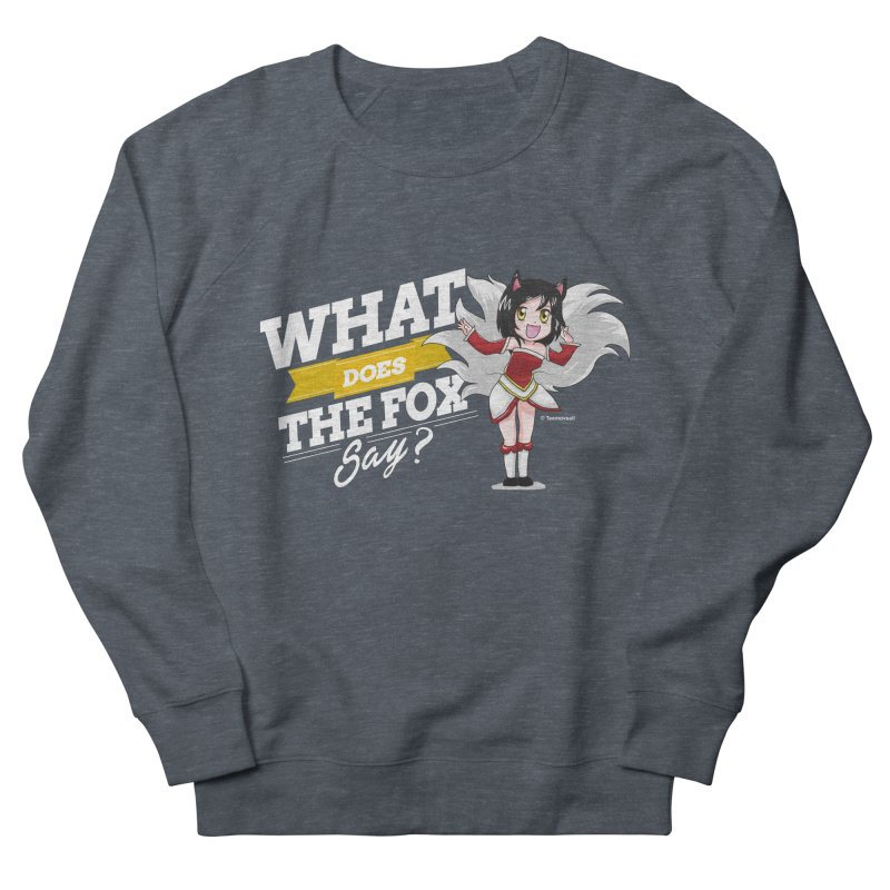 What does the fox say? (White edition) Women's Sweatshirt by Teemovsall Official shop