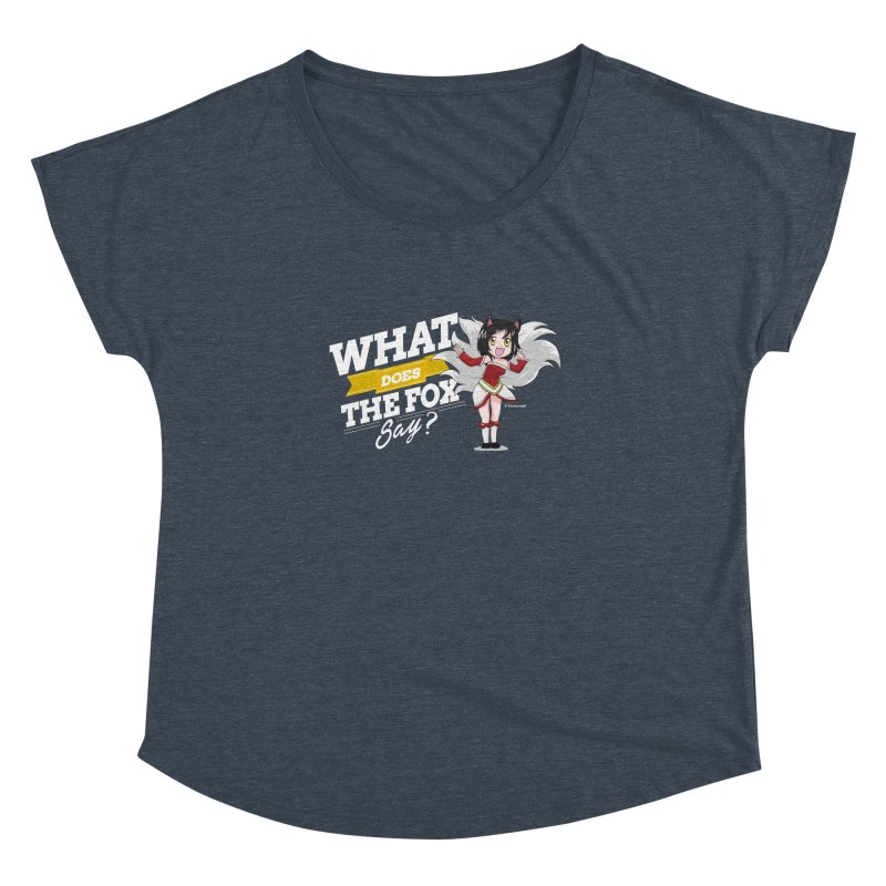 What does the fox say? (White edition)   by Teemovsall Official shop
