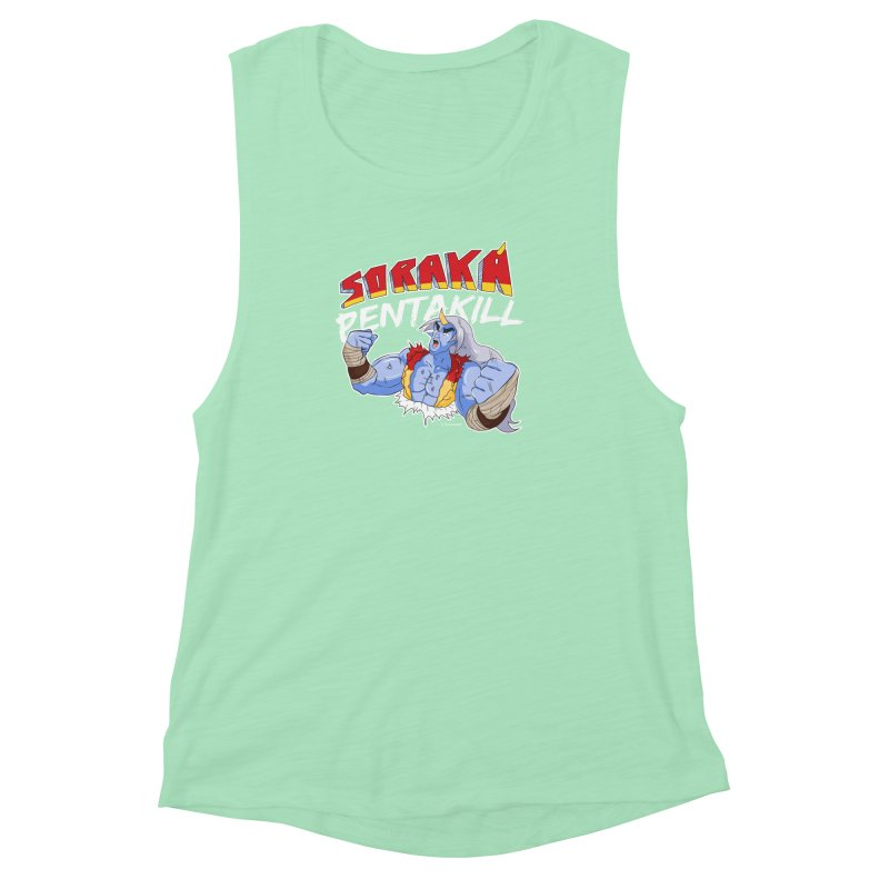 Soraka Pentakill (White Edition) Women's Muscle Tank by Teemovsall Official shop