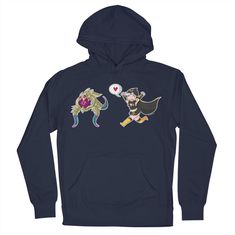 Ashe loves tentacles 2 Men's French Terry Pullover Hoody by Teemovsall Official shop