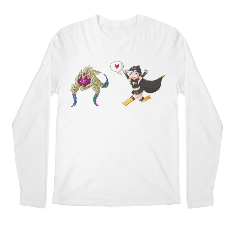 Ashe loves tentacles 2 Men's Longsleeve T-Shirt by Teemovsall Official shop