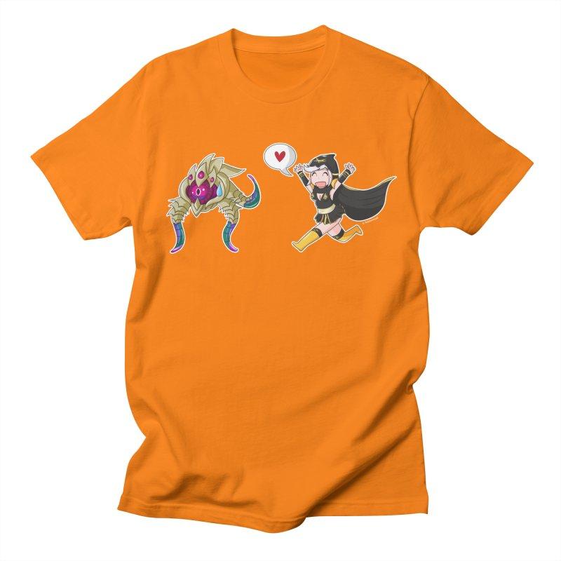 Ashe loves tentacles 2 Men's Regular T-Shirt by Teemovsall Official shop