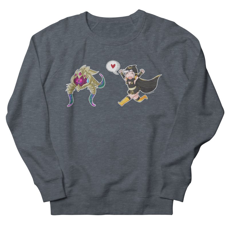 Ashe loves tentacles 2 Men's French Terry Sweatshirt by Teemovsall Official shop