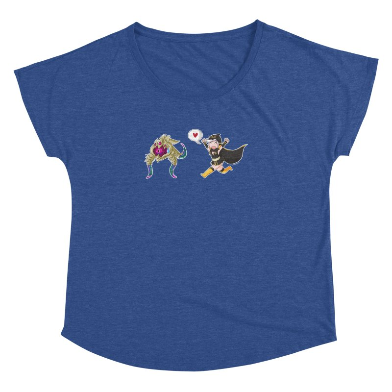 Ashe loves tentacles 2 Women's Dolman by Teemovsall Official shop