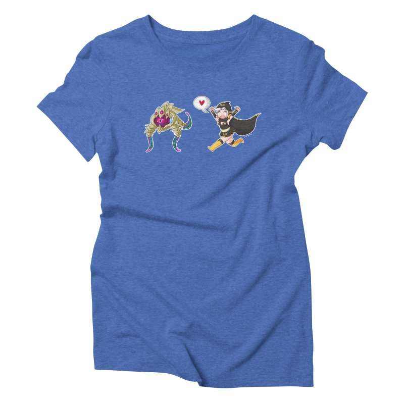 Ashe loves tentacles 2 Women's Triblend T-Shirt by Teemovsall Official shop