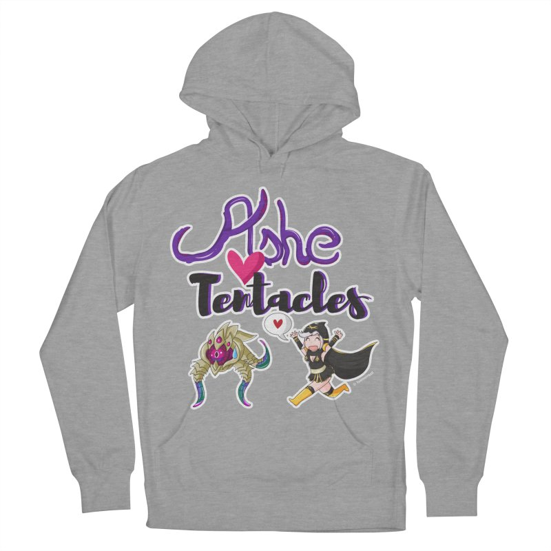 Ashe loves tentacles 1 Men's Pullover Hoody by Teemovsall Official shop