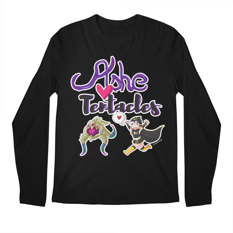 Ashe loves tentacles 1 Men's Regular Longsleeve T-Shirt by Teemovsall Official shop