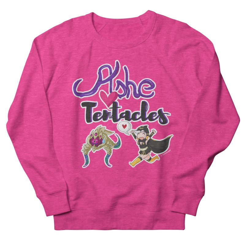 Ashe loves tentacles 1 Women's Sweatshirt by Teemovsall Official shop