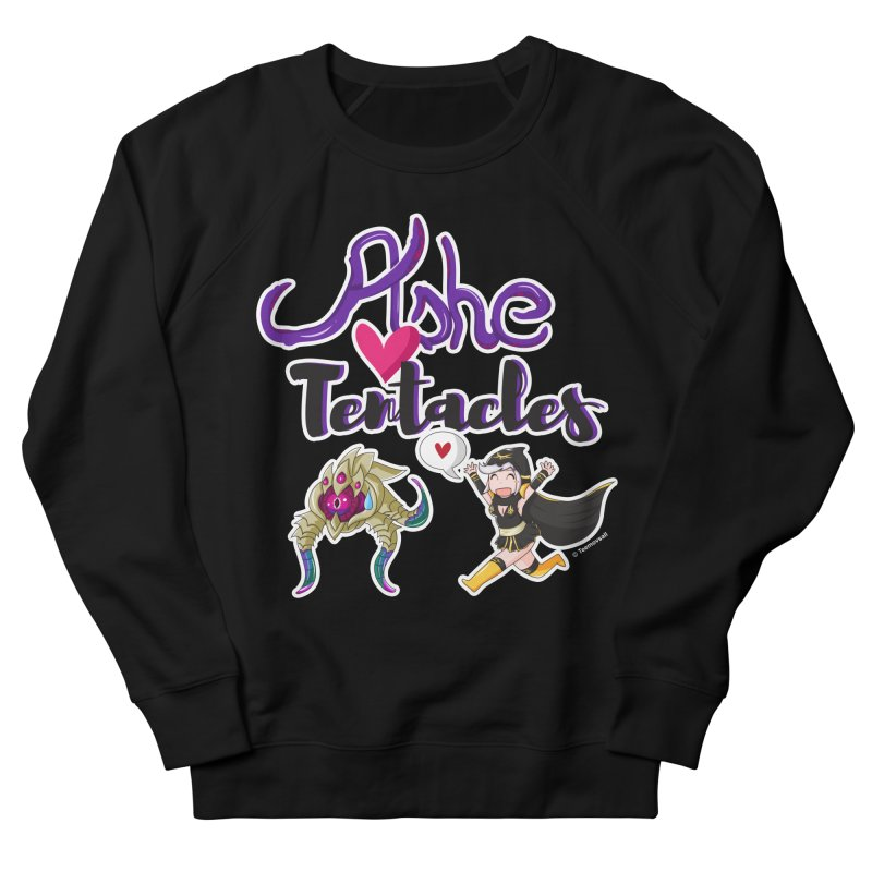 Ashe loves tentacles 1 Women's French Terry Sweatshirt by Teemovsall Official shop