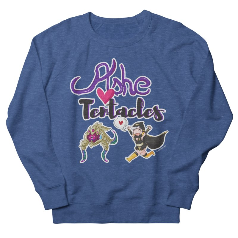 Ashe loves tentacles 1 Men's French Terry Sweatshirt by Teemovsall Official shop