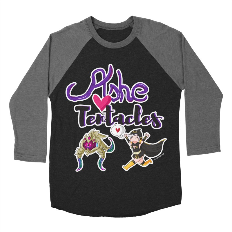 Ashe loves tentacles 1 Women's Baseball Triblend T-Shirt by Teemovsall Official shop