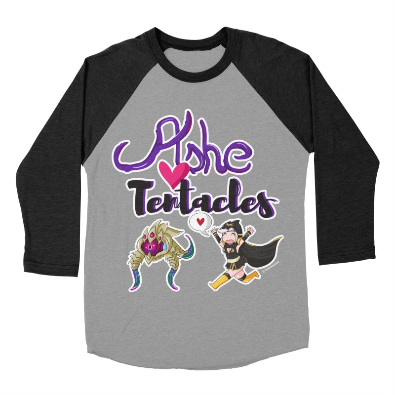 Ashe loves tentacles 1 Women's Baseball Triblend Longsleeve T-Shirt by Teemovsall Official shop
