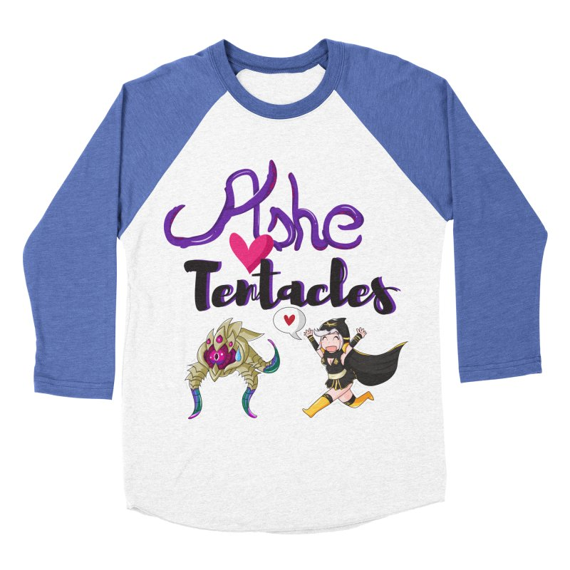 Ashe loves tentacles 1 Men's Baseball Triblend T-Shirt by Teemovsall Official shop