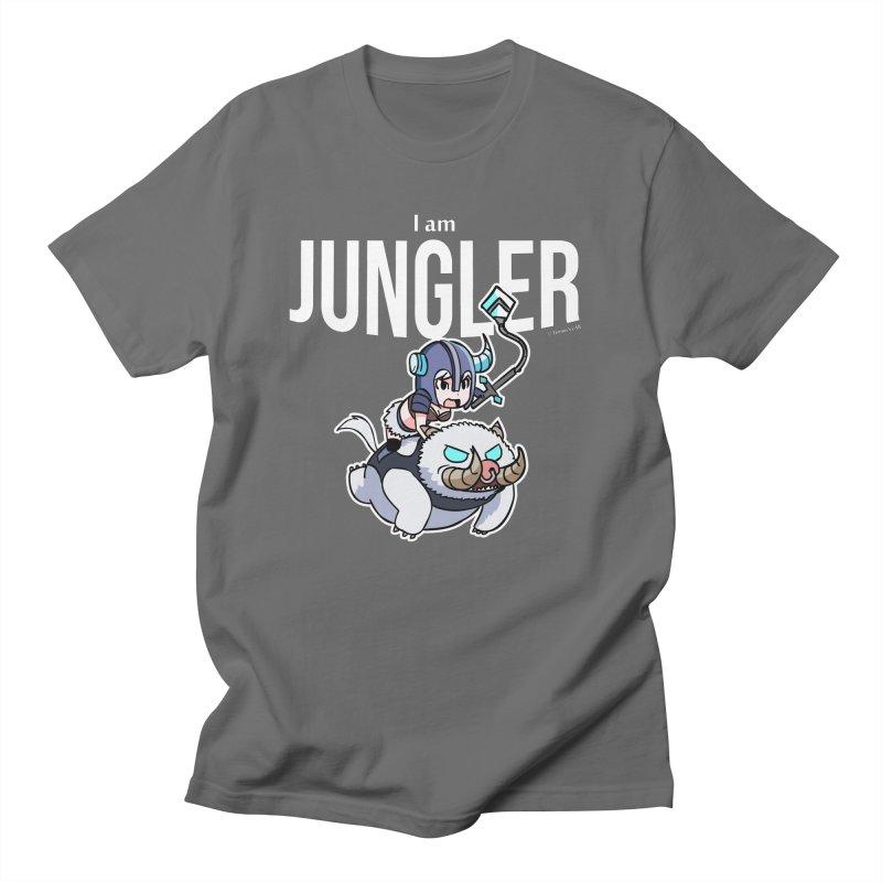 I am jungler in Men's Regular T-Shirt Asphalt by Teemovsall Official shop