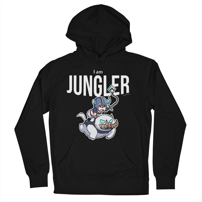 I am jungler Women's French Terry Pullover Hoody by Teemovsall Official shop