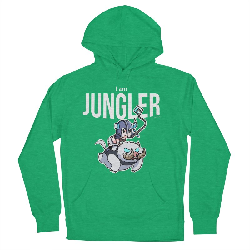 I am jungler Men's French Terry Pullover Hoody by Teemovsall Official shop