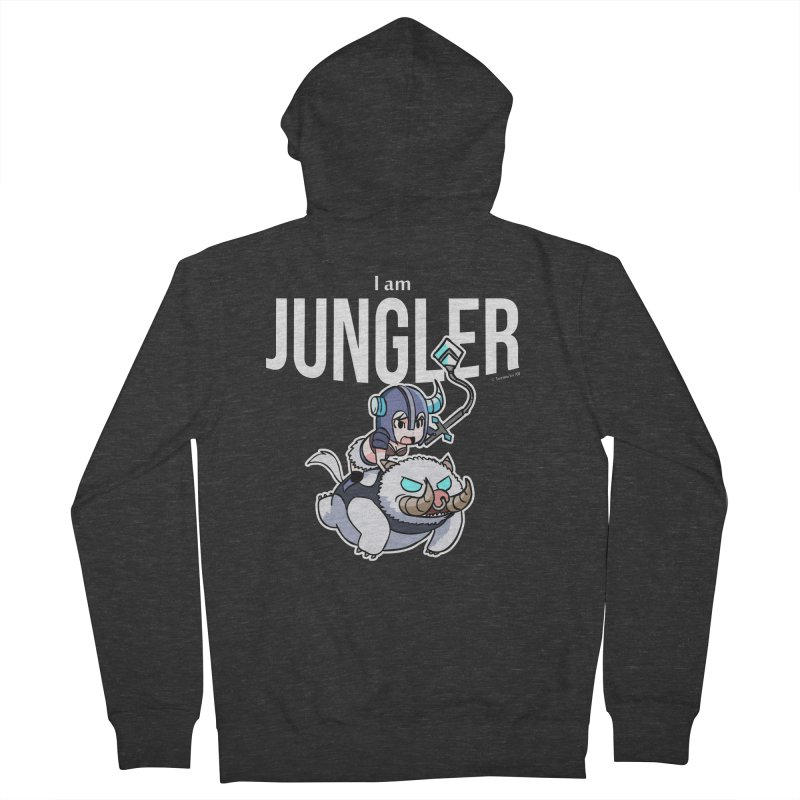 I am jungler Women's Zip-Up Hoody by Teemovsall Official shop