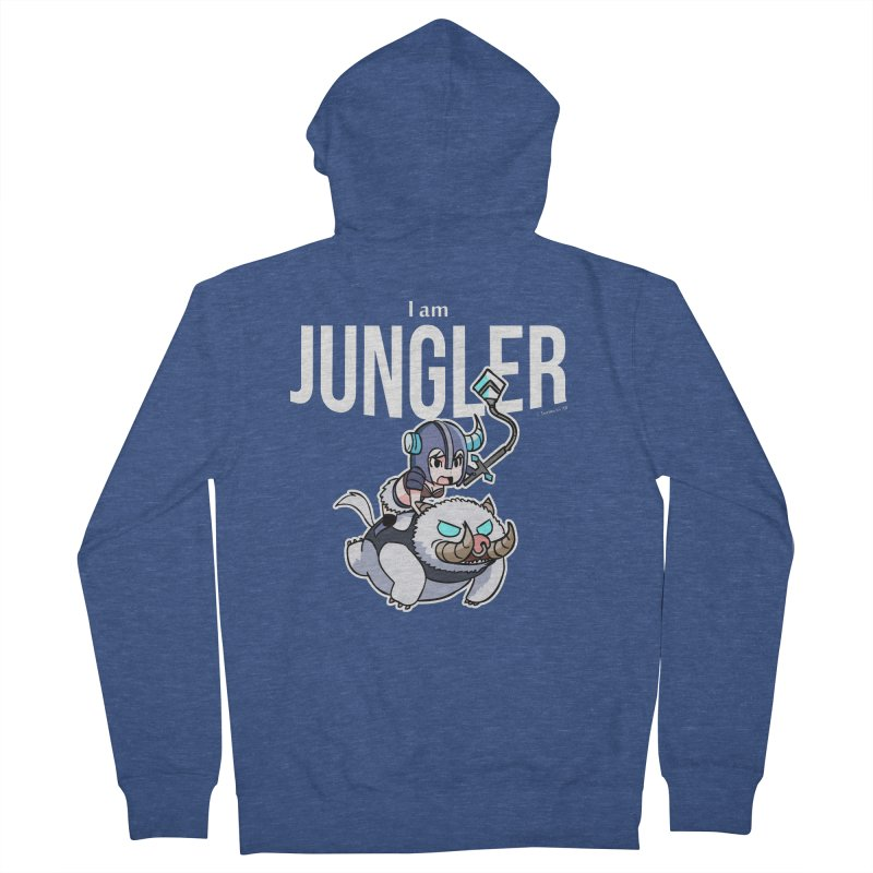 I am jungler Women's Zip-Up Hoody by Teemovsall Official shop