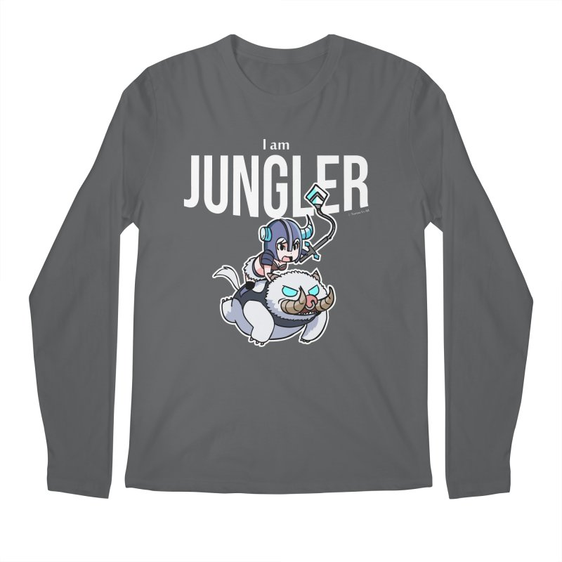 I am jungler Men's Longsleeve T-Shirt by Teemovsall Official shop