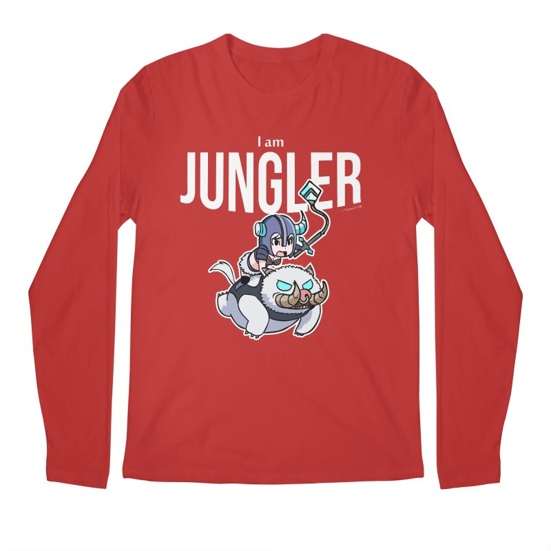I am jungler Men's Regular Longsleeve T-Shirt by Teemovsall Official shop