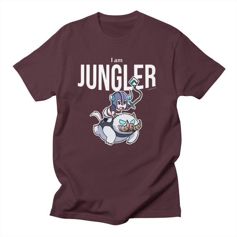 I am jungler Men's Regular T-Shirt by Teemovsall Official shop