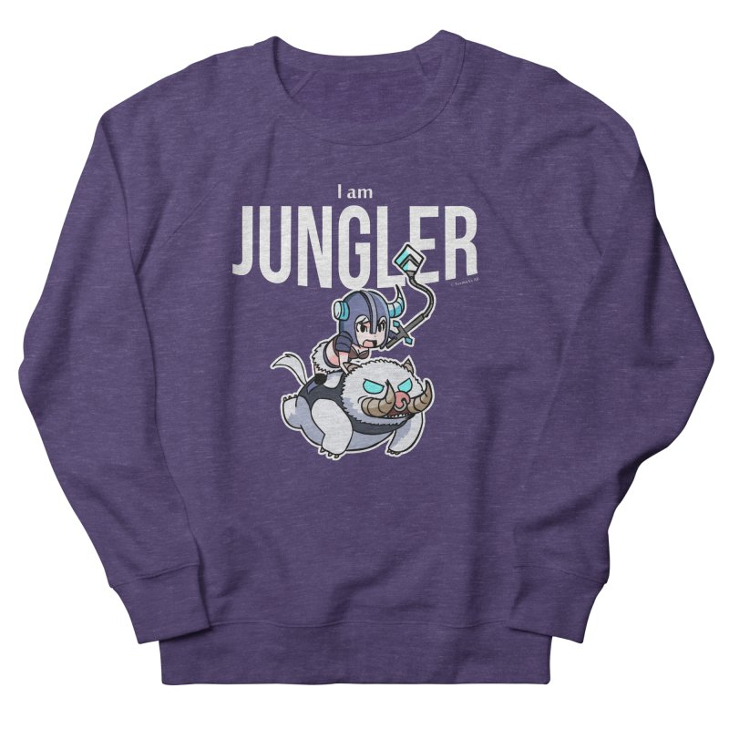 I am jungler Women's French Terry Sweatshirt by Teemovsall Official shop