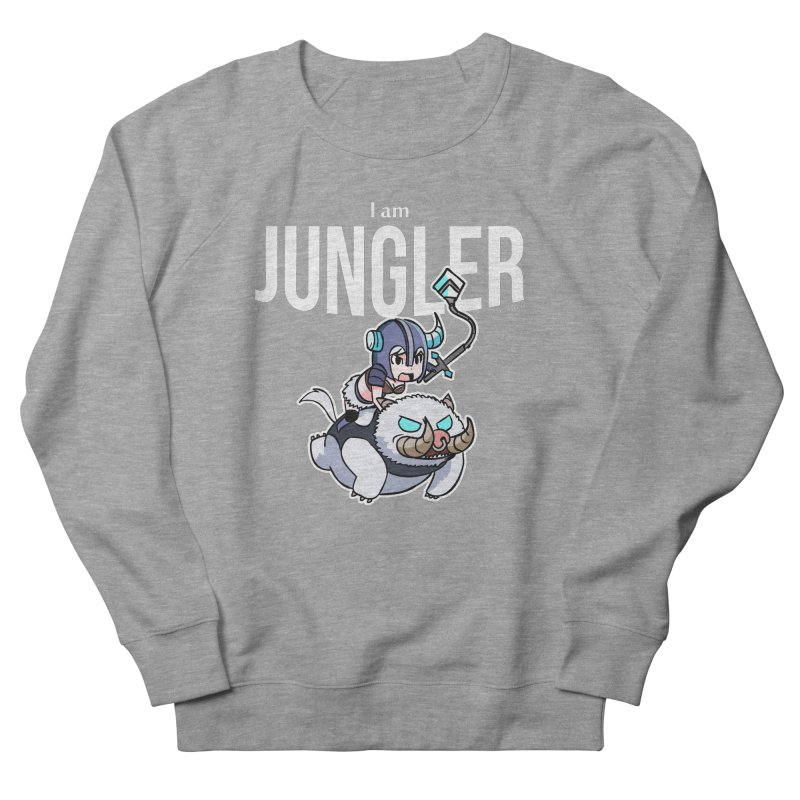 I am jungler Men's French Terry Sweatshirt by Teemovsall Official shop